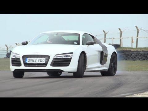 Audi R8 V10 Plus, Porsche 911 Turbo S, Litchfield GT-R. Track, Drag-Race – CHRIS HARRIS ON CARS