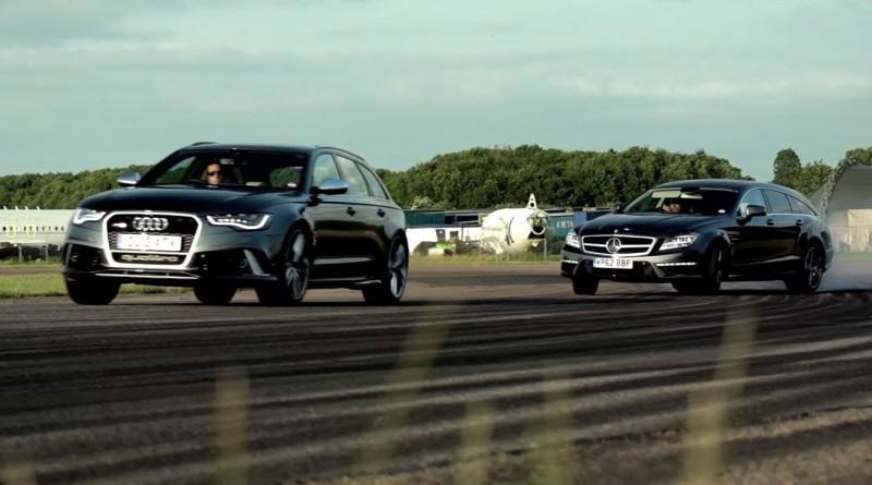 Audi RS6 v Mercedes CLS 63 AMG Shooting Brake: Super Wagons. – /CHRIS HARRIS ON CARS
