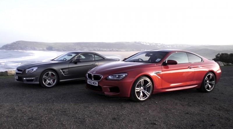 BMW M6 v Mercedes SL63 AMG – CHRIS HARRIS ON CARS