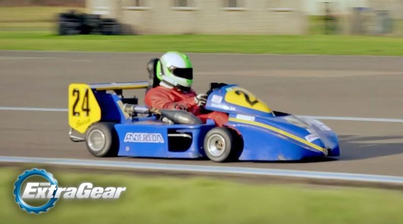 Chris Harris Lap: Division 1 Superkart | Extra Gear | BBC