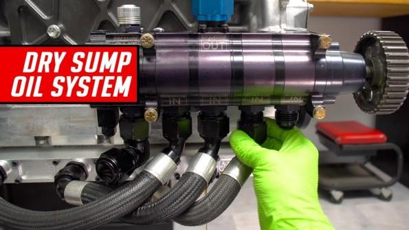 Dry Sump Oil System Teardown and Description