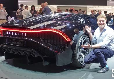BUGATTI LA VOITURE NOIRE – World Exclusive Unveiling @ Geneva Motorshow 2019