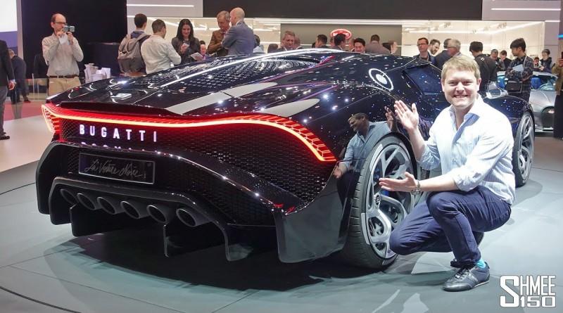 €16.7m BUGATTI LA VOITURE NOIRE – World's Most Expensive New Car!