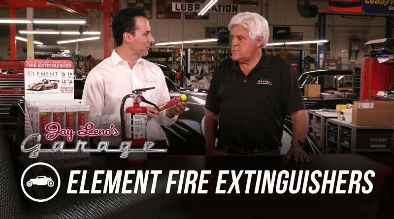Element Fire Extinguishers – Jay Leno's Garage