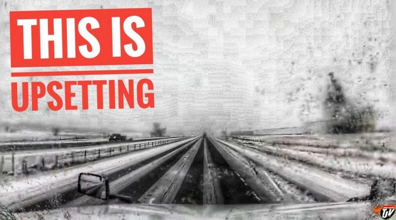 My Trucking Life | UPSETTING | #1709