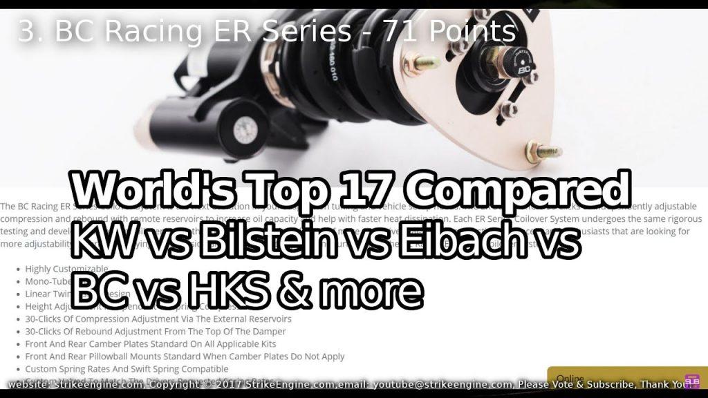 Top 17 Coilovers Kits  KW vs Bilstein vs Sachs vs BC & more
